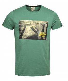 BASEHIT T-SHIRT  ARMY GREEN
