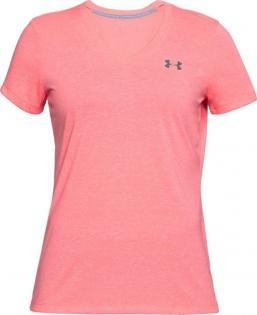 UNDER ARMOUR THREADBORNE TWIST V-NECK T-SHIRT