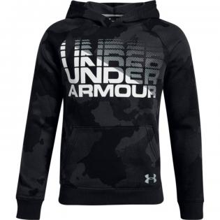 UNDER ARMOUR RIVAL WORDMARK HOODIE